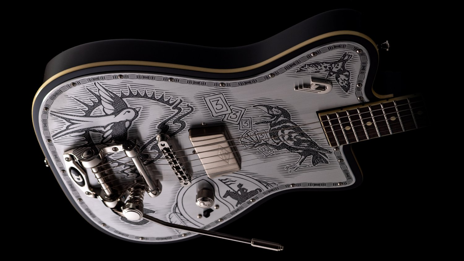 Angled view of the Duesenberg Alliance Series Johnny Depp