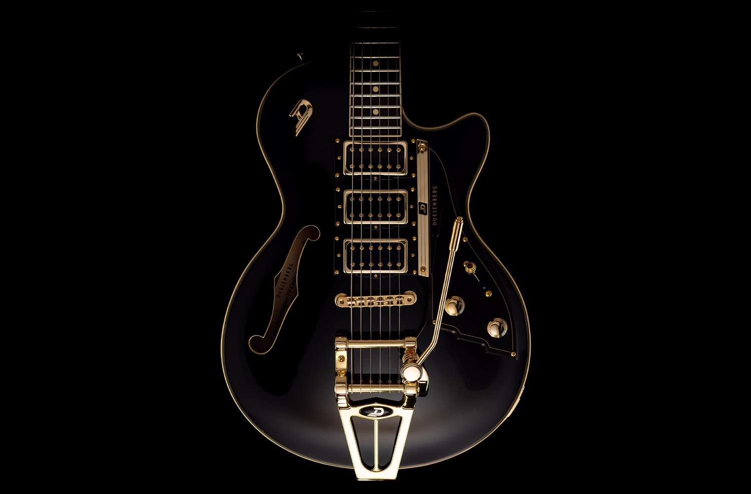 Duesenberg Guitars Starplayer TV Custom Body front