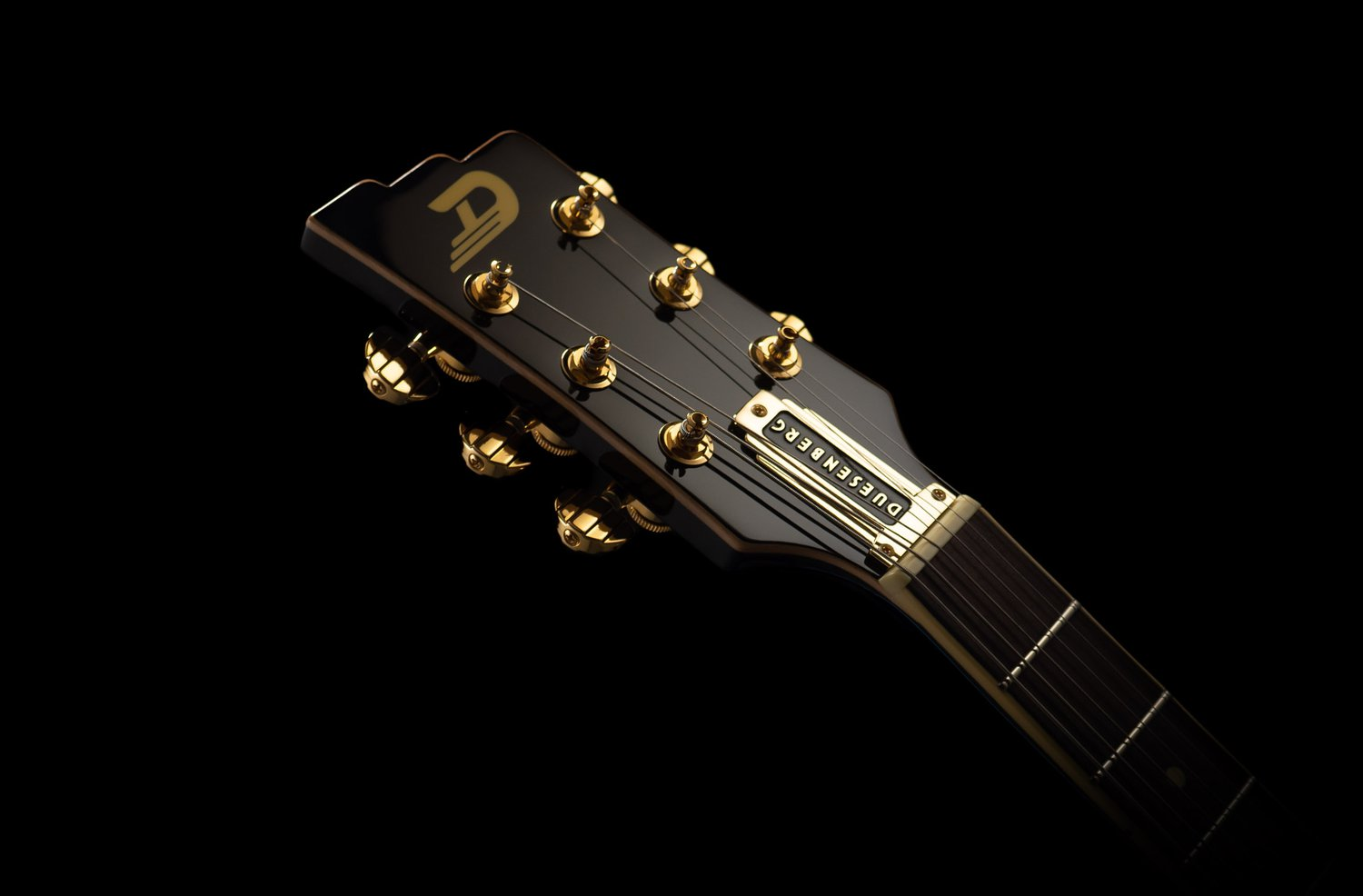 Duesenberg Guitars Starplayer TV Custom Headstock